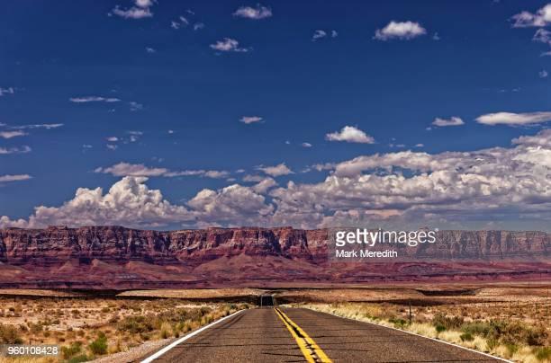 the road to vermillion cliffs national monument , arizona - vermilion cliffs stock pictures, royalty-free photos & images