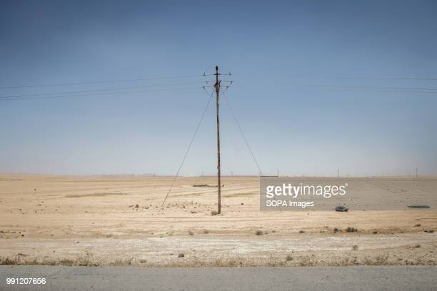 The road to Zaatari refugee camp There are about 14 million Syrian refugees in Jordan and only 20 percent are living in the refugee camps with the...