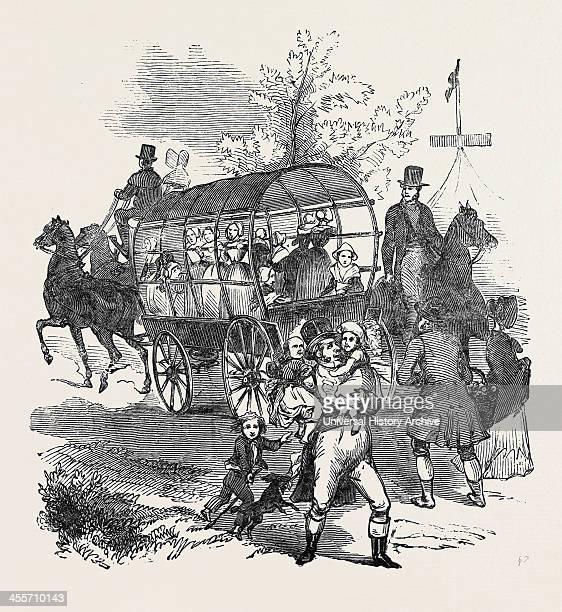 The RoadWaggons Etc Goodwood Races 1844