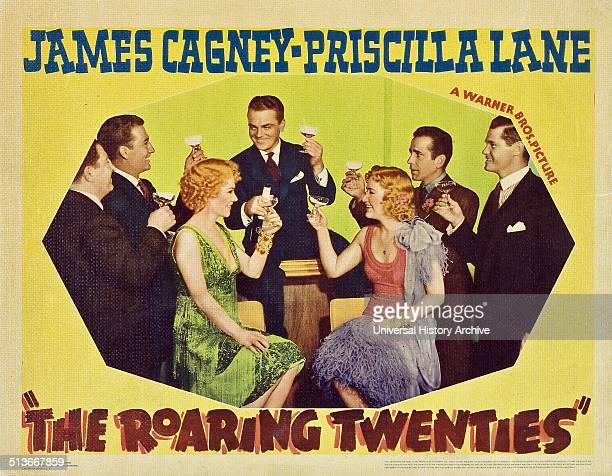 The Roaring Twenties a 1939 crime thriller starring James Cagney Priscilla Lane Humphrey Bogart and Gladys George The epic movie spanning the periods...