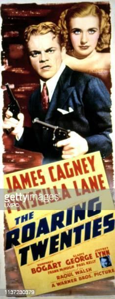 The Roaring Twenties poster James Cagney Priscilla Lane 1939
