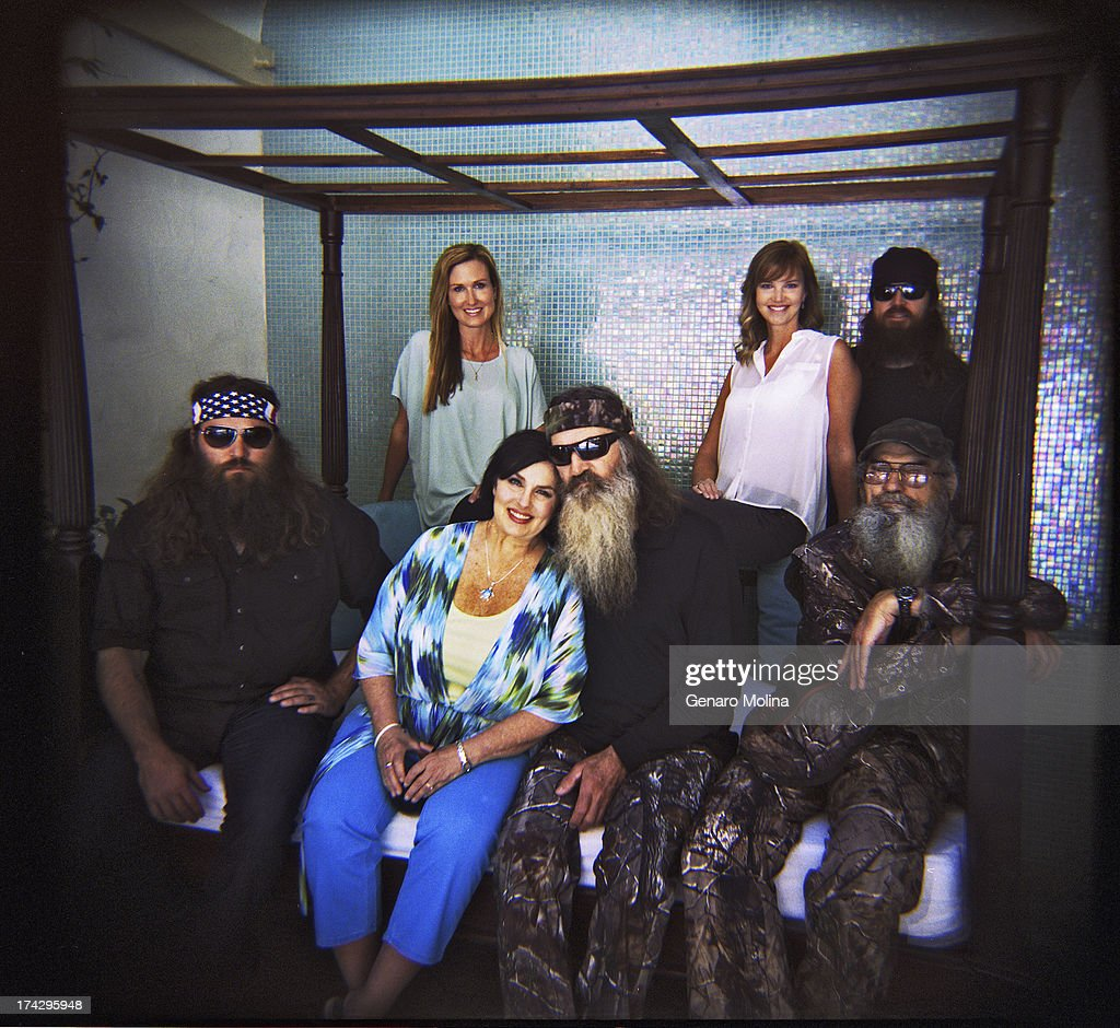 The Robertson Family Of Duck Dynasty Jase Robertson Phil Robertson News Photo Getty Images