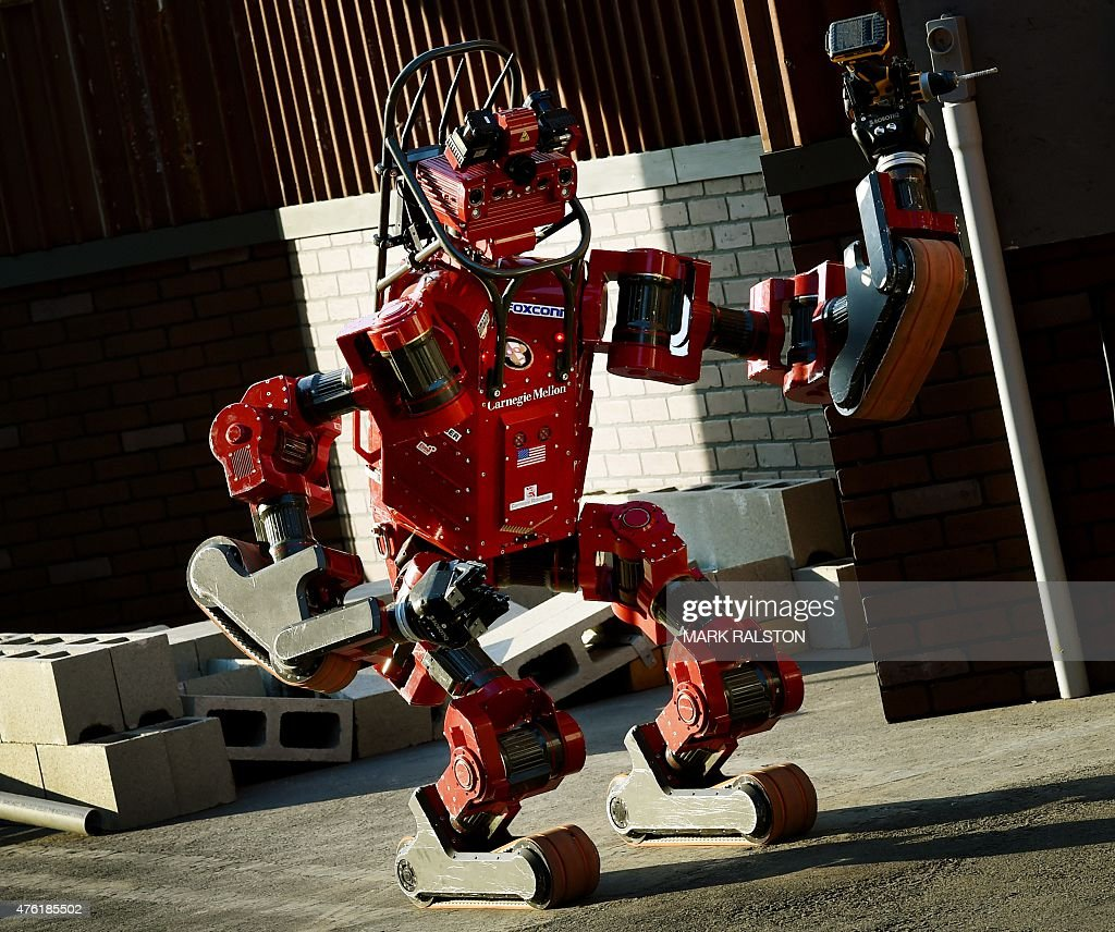 US-JAPAN-DISASTER-ROBOTS-TECHNOLOGY : News Photo