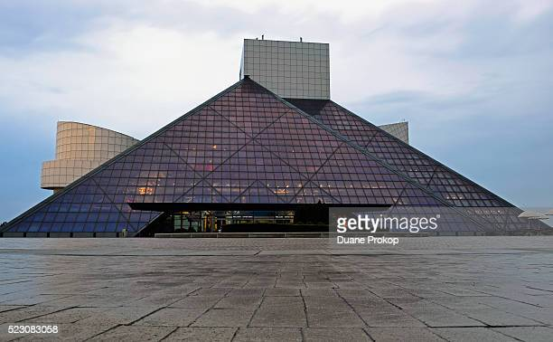 The Rock and Roll Hall of Fame and Museum is seen on on April 21 2016 in Cleveland Ohio Music icon Prince was inducted in 2004 Prince died earlier...