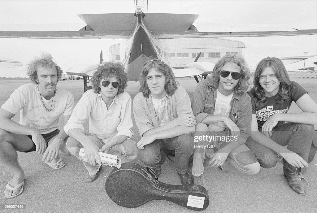 Bernie Leadon, Don Henley, Glenn Frey, Don Felder, and Randy Meisner.