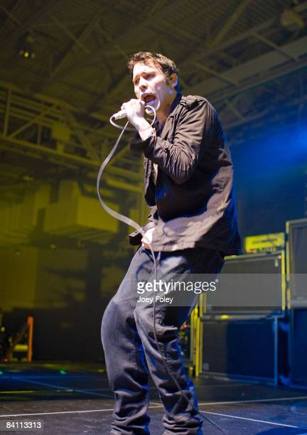 The rock band Trapt performs in the Jagermeister tour at the Toyota Blue Ribbon Pavilion on December 22 2008 in Indianapolis