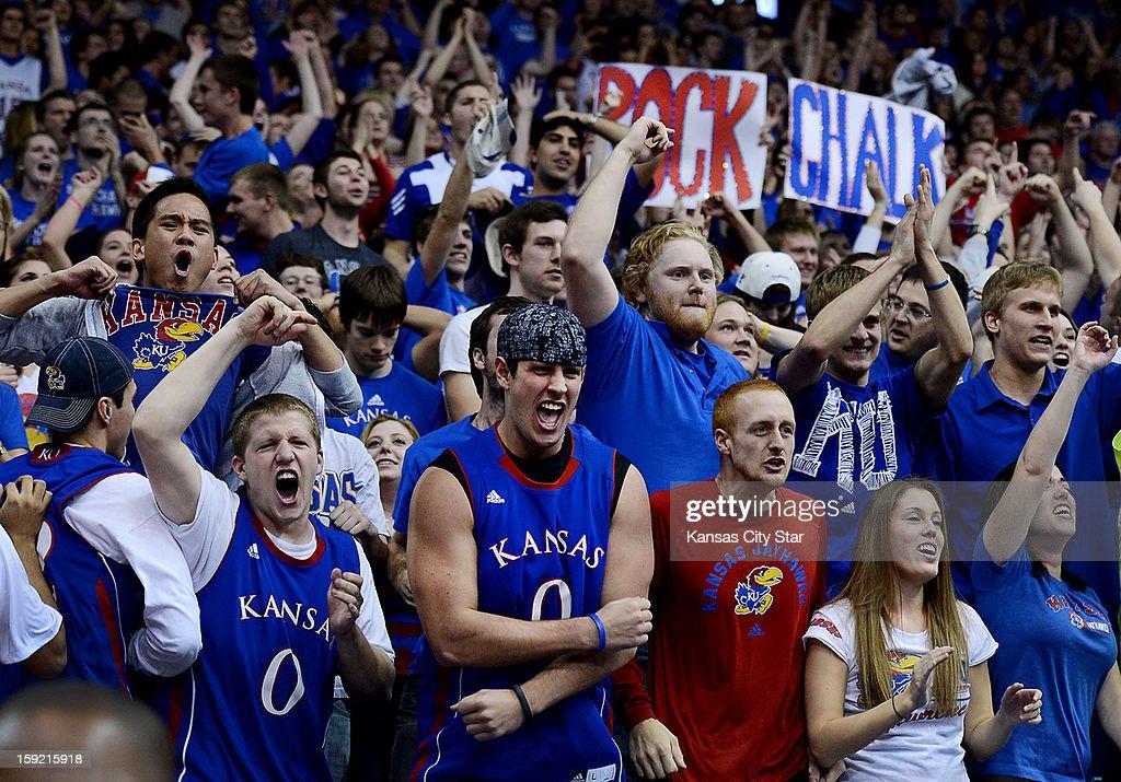 Iowa State at Kansas : News Photo