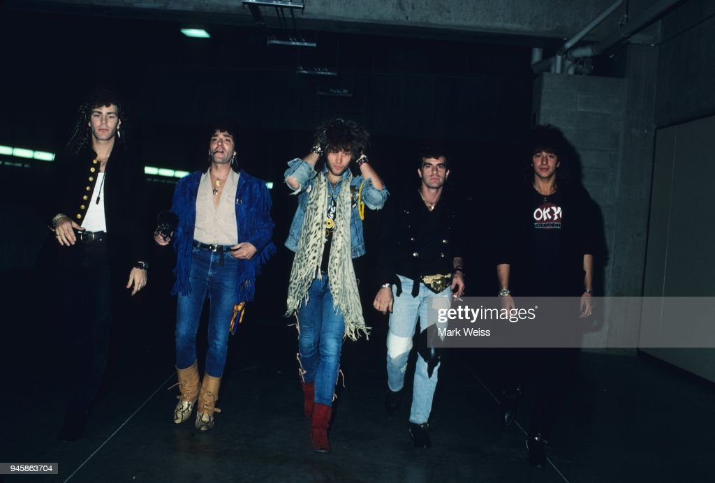 16bb85add9fc The rock group Bon Jovi in May 1986. News Photo - Getty Images