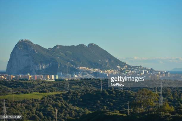 The Rock of Gibraltar. On Friday, November 30 in Gibraltar.