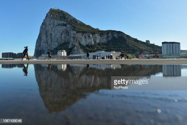 The Rock of Gibraltar On Friday November 30 in Gibraltar