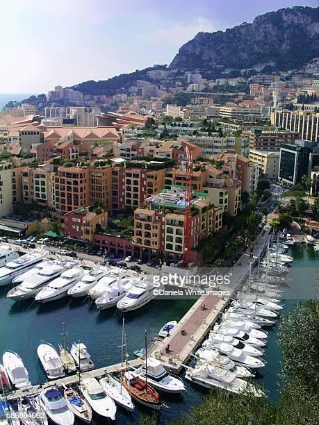 The rock of Monaco French riviera