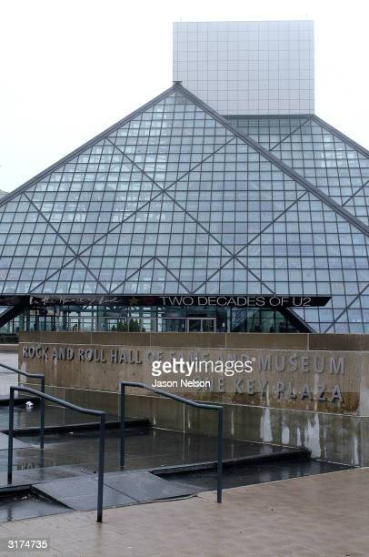 The Rock Roll Hall of Fame is seen March 30 2004 in Cleveland Ohio The Darkness is meeting with fans and signing their new CD Permission To Land