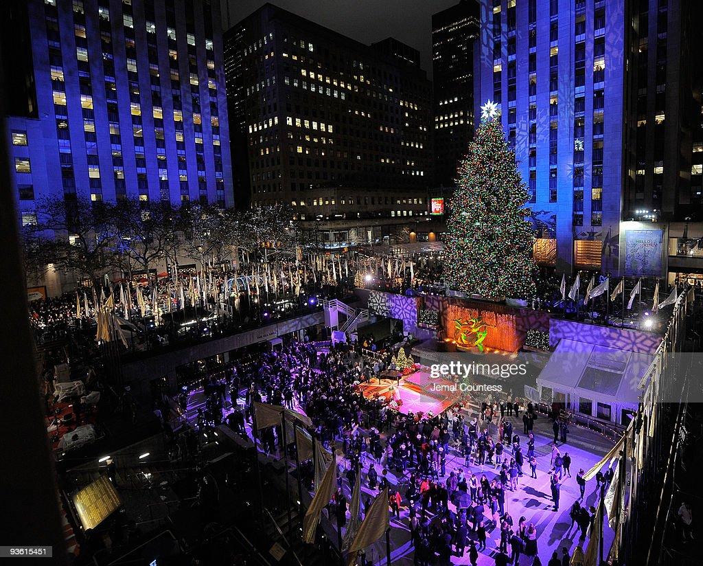 Lighting Of Rockefeller Center Christmas Tree
