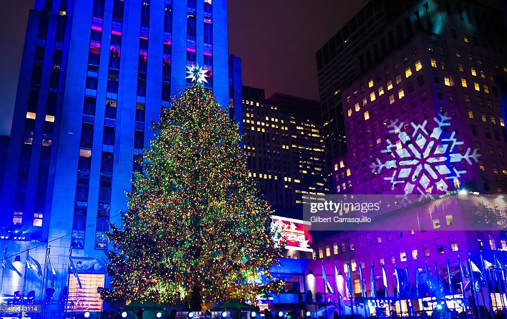 The Rockefeller Center Christmas tree is lit during the 83rd Annual Rockefeller Christmas Tree Lighting Ceremony & 83rd Rockefeller Center Tree Lighting 2015 Photos and Images ... azcodes.com