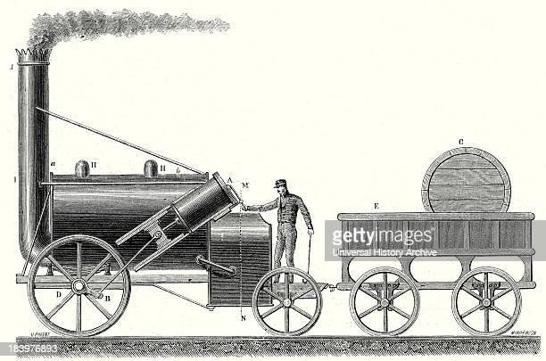 The 'Rocket' Locomotive Of George And Robert Stephenson