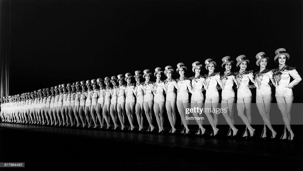 The Rockettes at Radio City Music Hall : News Photo