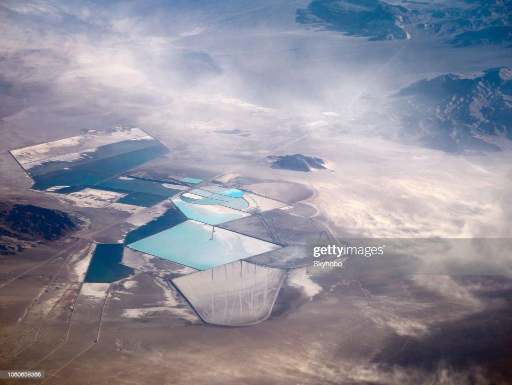 The Rockwood Lithium Mine : Stock Photo