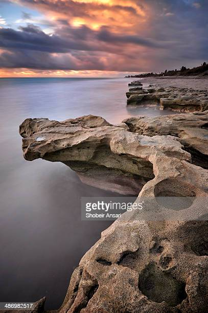The rocky shore of Jupiter