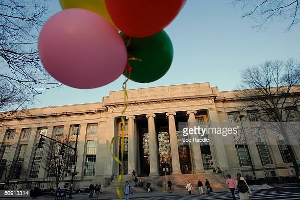The Rogers Building is shown on the campus of the Massachusetts Institute of Technology February 22 2006 in Cambridge Massachusetts The Institute...