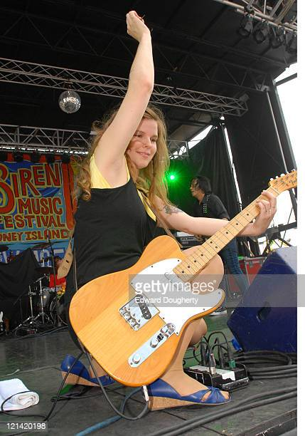 The Rogers Sisters during 6th Annual Village Voice Siren Music Festival at Coney Island in Brooklyn, New York, United States.