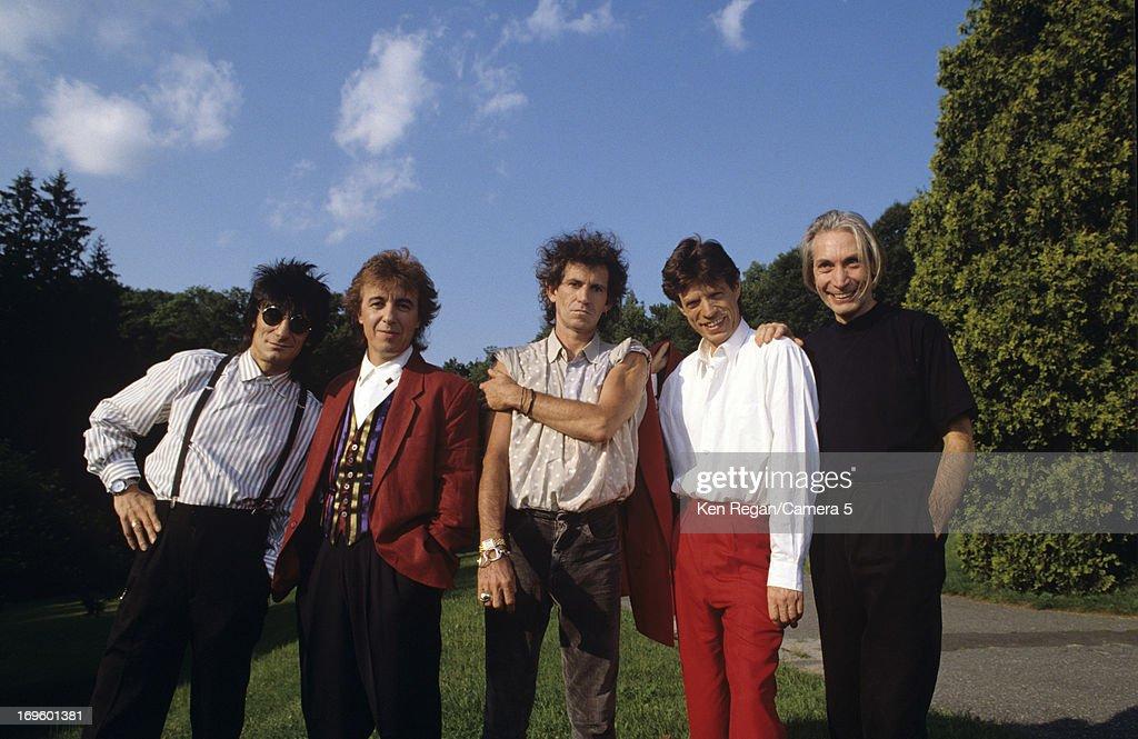 The Rolling Stones, Ken Regan Archive, September 1981