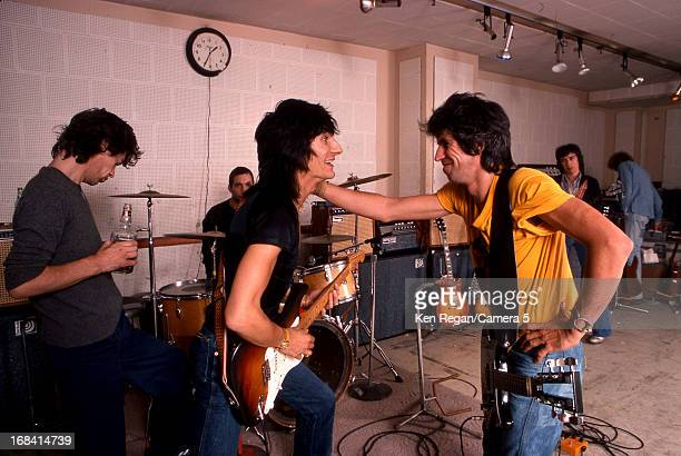 The Rolling Stones are photographed during rehearsal in October 1978 in New York City CREDIT MUST READ Ken Regan/Camera 5 via Contour by Getty Images