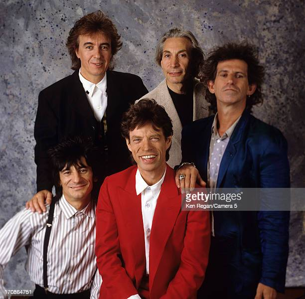 The Rolling Stones are photographed for Time Magazine in 1989 in New York City CREDIT MUST READ Ken Regan/Camera 5 via Contour by Getty Images