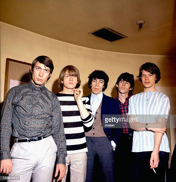The Rolling Stones Charlie Watts Brian Jones Bill Wyman Keith Richards and Mick Jagger in July 1964