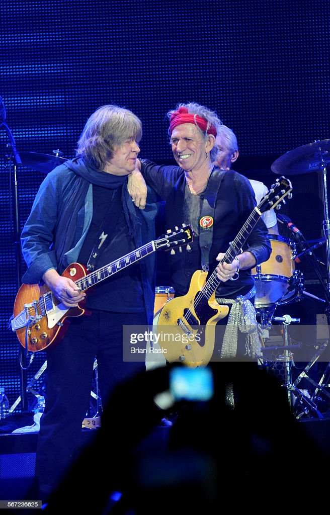 The Rolling Stones In Concert At The O2 Arena, London, Britain - 25 Nov 2012 : News Photo