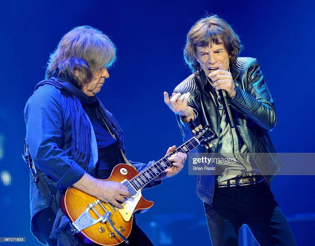 The Rolling Stones In Concert, O2, London, Britain - 25 Nov 2012 : News Photo