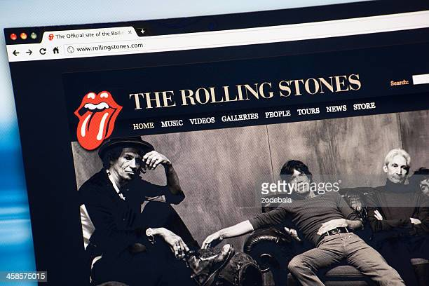 The Rolling Stones Internet Web Site