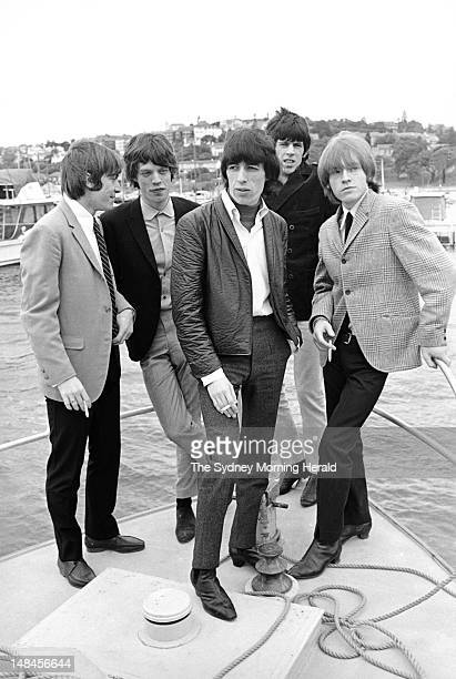 The Rolling Stones on a Sydney Harbour Cruise January 23 1965