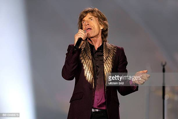 The Rolling Stones on stage at the 14 ON FIRETour at EspritArena Düsseldorf