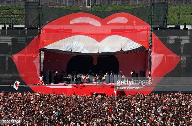 The Rolling Stones perform at the Day on the Green Oakland Coliseum Oakland CA July 1978