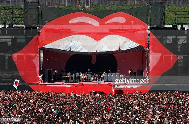 The Rolling Stones perform at the Day on the Green Oakland Coliseum Oakland California July 1978