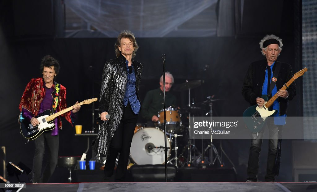 The Rolling Stones 'No Filter' Tour Opening Night At Croke Park In Dublin : News Photo