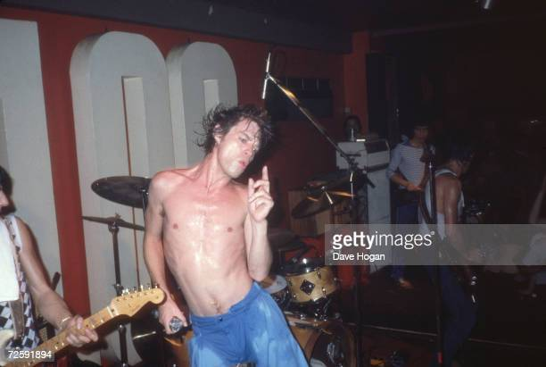 The Rolling Stones play an impromptu concert at the 100 Club London May 30th 1982