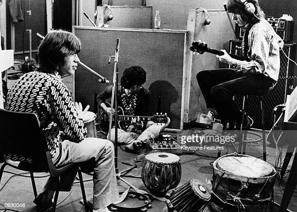 The Rolling Stones recording their hit 'Sympathy For The Devil' a mammoth recording session that would be turned by film director JeanLuc Godard into...