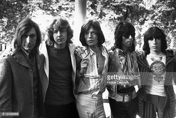 The Rolling Stones with new member Mick Taylor