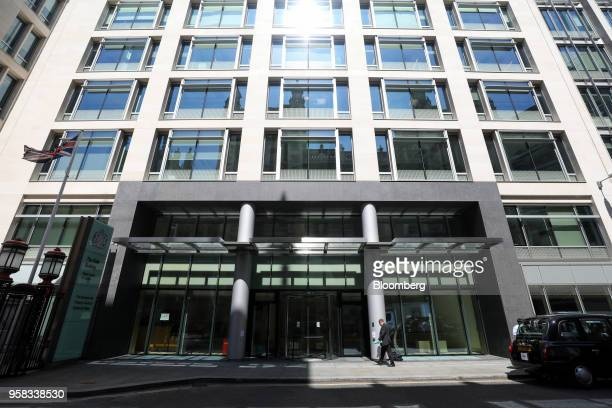 The Rolls Building London's commercial court stands in London UK on Monday May 14 2018 Russian billionaires are feuding in the court over control of...