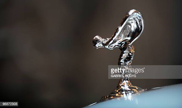 The Rolls Royce Ghost is displayed during the Los Angeles Auto Show on December 2 2009 in Los Angeles California The Los Angeles Auto Show will be...