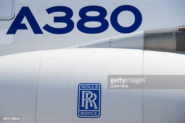 The Rolls Royce Logo Is Pictured On The Engines Of An