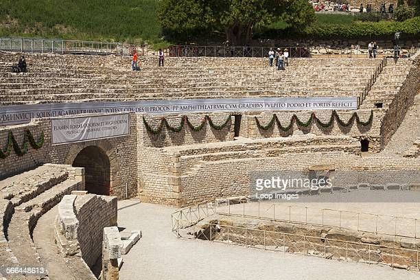 The Roman Amphitheatre at Tarragona in Spain