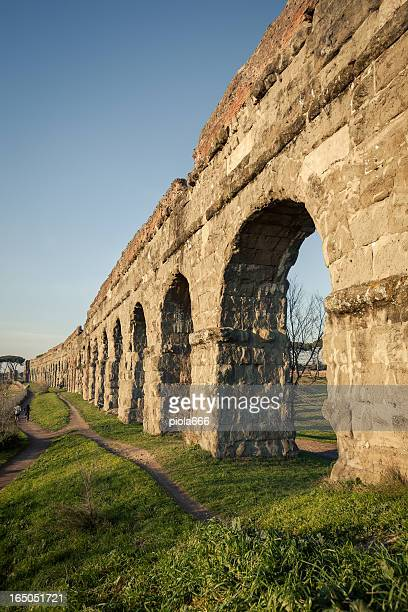 The Roman Aqueduct at Parco degli Acquedotti