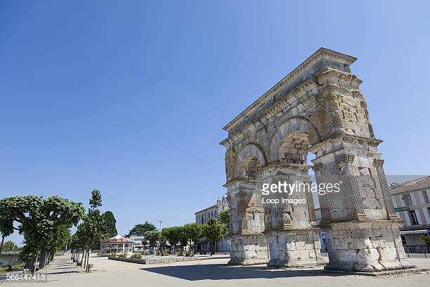 The roman Arch of Germanicus in Saintes in France