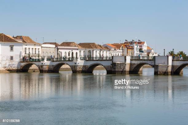 The Roman bridge in Tavira, the Algarve