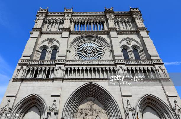 The Roman Catholic St Mary's Cathedral Basilica Of The Assumption in Covington Kentucky on July 21 2017