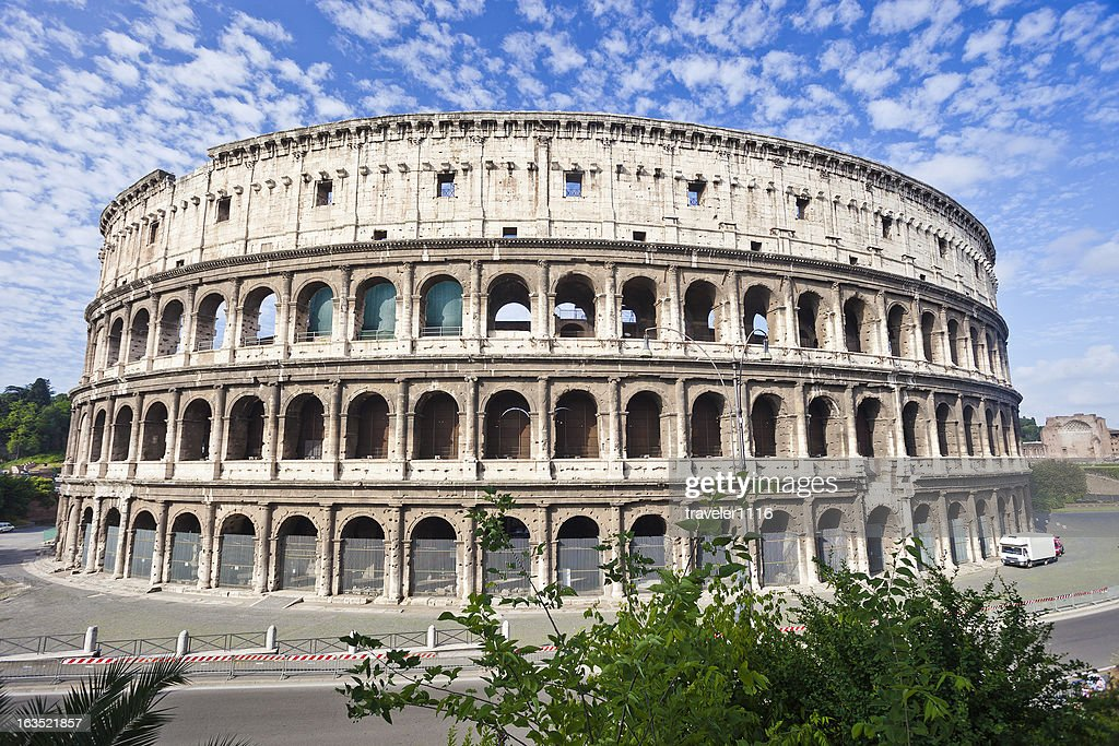 The Roman Coliseum High-Res Stock Photo - Getty Images