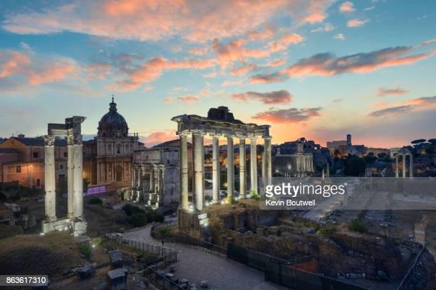 The Roman Forum at Sunrise