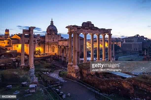 The Roman Forum or Foro Romano, Rome.